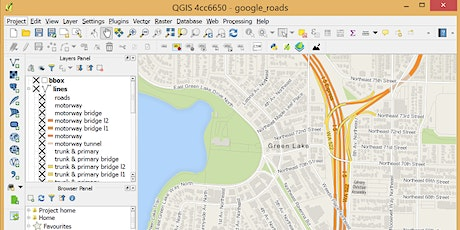 QGIS: Introductory Workshop tickets