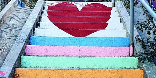 LA's Secret Painted Stairs