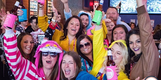 3rd Annual Onesie Bar Crawl: Knoxville