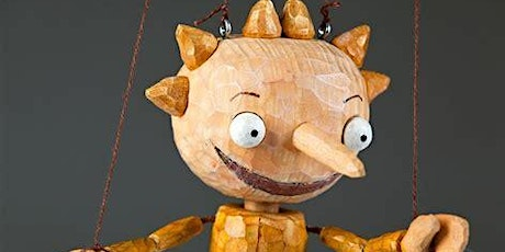 Workshop - Carve and paint a simple rod marionette, with Sarah Vigars, suitable for 16+ tickets