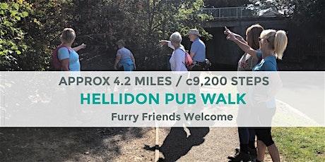 HELLIDON PUB WALK | APPROX 4.5 MILES | MODERATE | NORTHANTS tickets