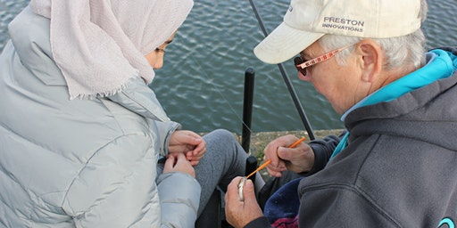 Free Let's Fish! sessions - Anderton Boat Lift - Open Day