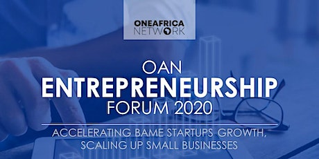 OAN Entrepreneurship Forum 2020 tickets