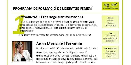 Sessió 1 programa de formació de lideratge femení de 5a50 entradas