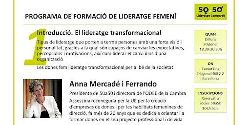Sessió 1 programa de formació de lideratge femení de 5a50