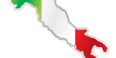 CURSUS - ITALIAANS vervolg (2) - 10 lessen - volw. tickets