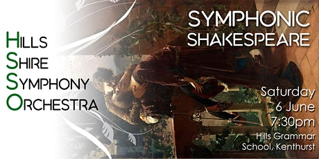 HSSO 2: Symphonic Shakespeare tickets