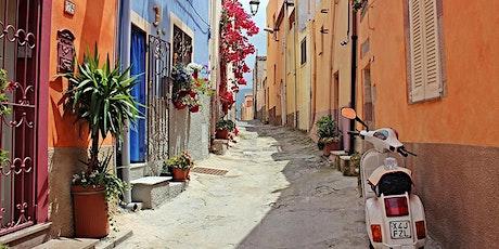 CURSUS - ITALIAANS op vakantie - 6 lessen - volw. tickets