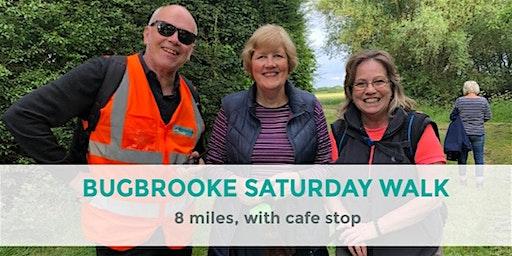 BUGBROOKE BRUNCH WALK |  8 MILES | MODERATE | NORTHANTS
