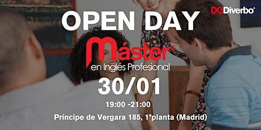 Open Day Máster en Inglés Profesional Diverbo - 30 Enero