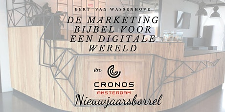 """Boekpresentatie """"De Marketing Bijbel voor een digitale wereld"""" & Nieuwjaarsborrel tickets"""