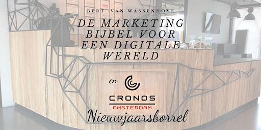 """Boekpresentatie """"De Marketing Bijbel voor een digitale wereld"""" & Nieuwjaarsborrel"""
