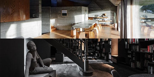 Bezoek Woning Van Wassenhove & The Wunderkammer Residence op 24.05.2020