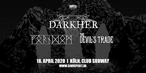 Darkher | Forndom | The Devil's Trade LIVE in Köln