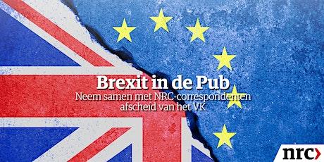 Brexit in de Pub |  Neem samen met NRC-correspondenten afscheid van het VK tickets