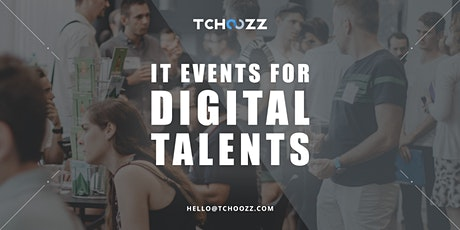 Tchoozz Tech Dating | Brussels (September 23rd) | Talents tickets