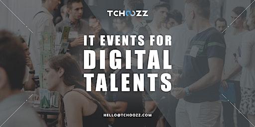 Tchoozz Tech Dating | Brussels (September 23rd) | Talents