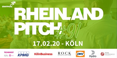 Rheinland-Pitch #91 in Köln Tickets