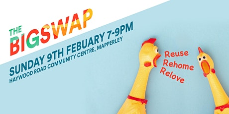 The Big Toy Swap post Christmas cleanse.  Follow @thebigswapevents tickets