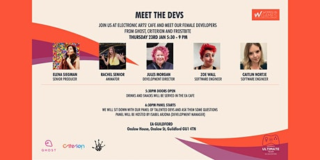 MEET THE FEMALE DEVS  tickets