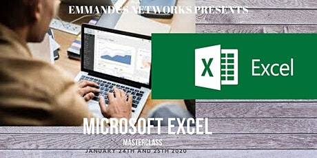 Microsoft Excel Masterclass (Beginner to Advanced)- Paid Training tickets