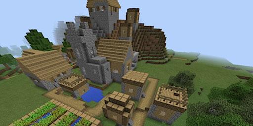 Minecraft: Ein mittelalterliches Dorf bauen