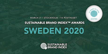 Sustainable Brand Index Awards 2020 - Sweden tickets