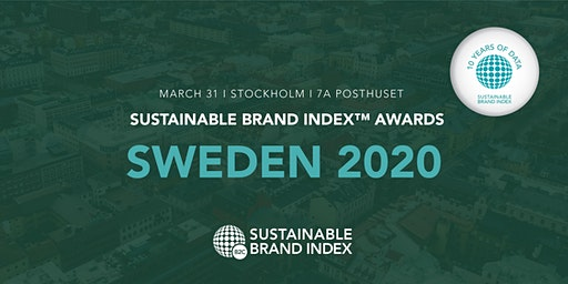 Sustainable Brand Index Awards 2020 - Sweden