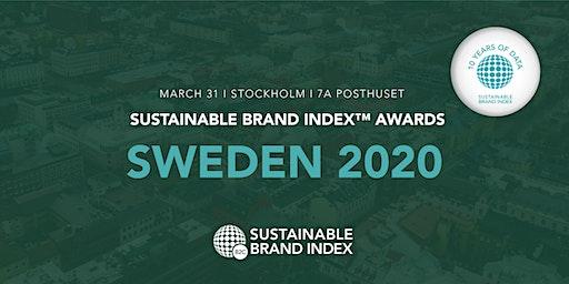 Sustainable Brand Index Awards 2020 - Sweden