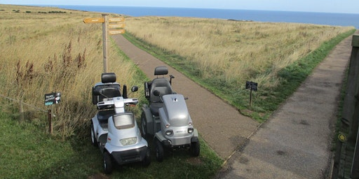 RSPB Bempton Cliffs Mobility Vehicle Hire 2020