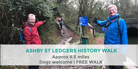 ASHBY ST LEDGERS HISTORY WALK | 4.5 MILES | MODERATE | NORTHANTS tickets