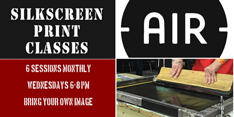Photographic Screenprint: March 2020 tickets