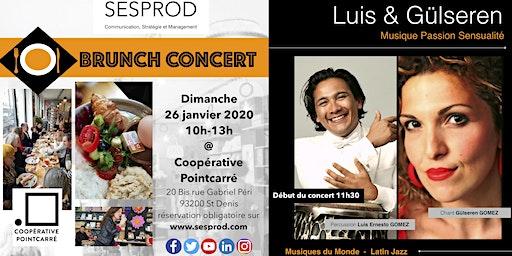 Brunch - Concert @ Coopérative Pointcarré avec Luis et Gülseren