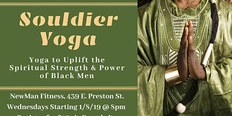 Souldier Yoga (Beginner's Level Yoga) tickets