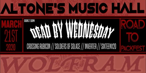 Dead by Wednesday, Crossing Rubicon, SOS, Inverter & Sixteenx20