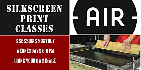 Photographic Screenprint: July 2020 tickets