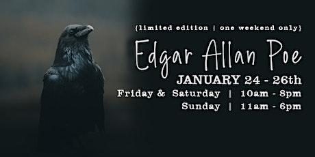 Edgar Allan Poe Make & Takes tickets