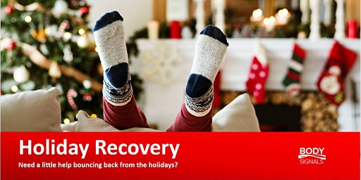 Holiday Detox... get your ENERGY back!