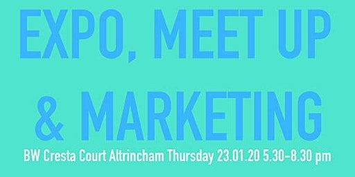 Expo, Meet Up and Marketing 23.01.20 - exhibitor ticket