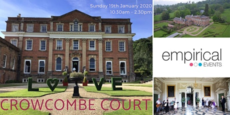 Empirical Events Wedding Show at Crowcombe Court, Somerset. tickets