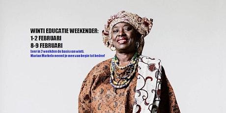 Winti Educatie Weekender|VOL tickets