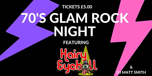 70's Glam Rock Night
