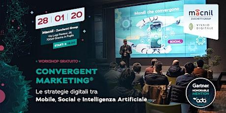 Gravina in Puglia - Workshop sul Convergent Marketing® tickets
