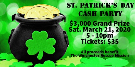 St. Patrick's Day Cash Party tickets