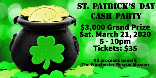 St. Patrick's Day Cash Party