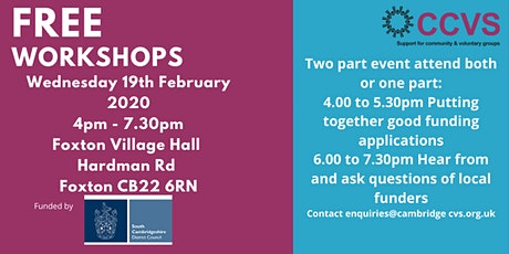 Community Event - Finding funding and creating good funding bids two part event sign up for one or both parts tickets