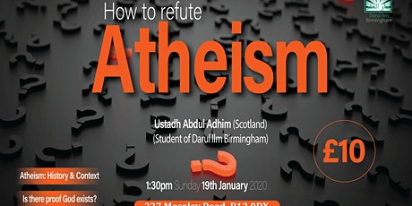 How to refute Atheism tickets