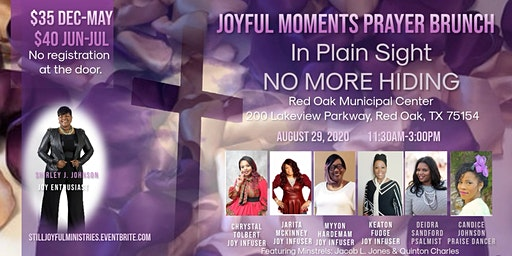 Joyful Moments Prayer Brunch 2020