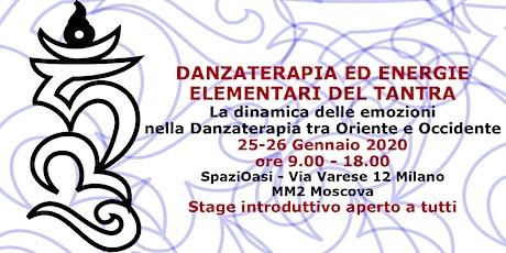 Danzaterapia ed Energie elementari del Tantra con Elena Cerruto biglietti