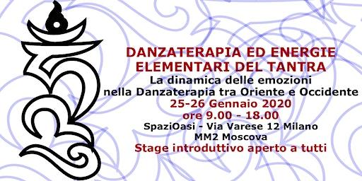 Danzaterapia ed Energie elementari del Tantra con Elena Cerruto